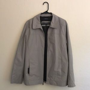 Perry Ellis Dobby Tech Portfolio Jacket